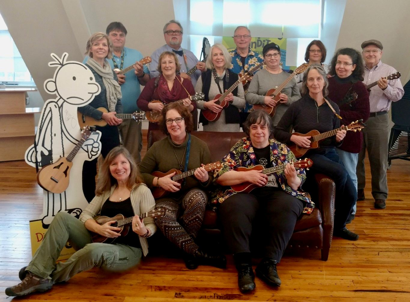 The Unlikely Strummers